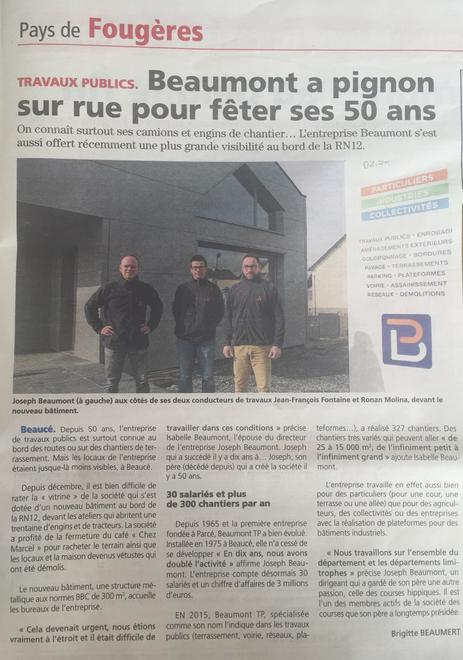 ARTICLE CHRONIQUE 10 MARS 2016